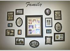 30 Family Picture Frame Wall Ideas Unique Nail Designs Pinterest