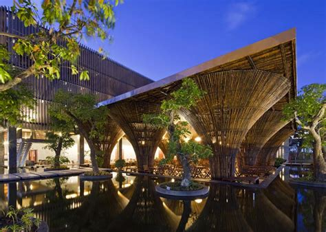 Yellow Treehouse Restaurant New Zealand - kontum indochine cafe by vo trong nghia architects