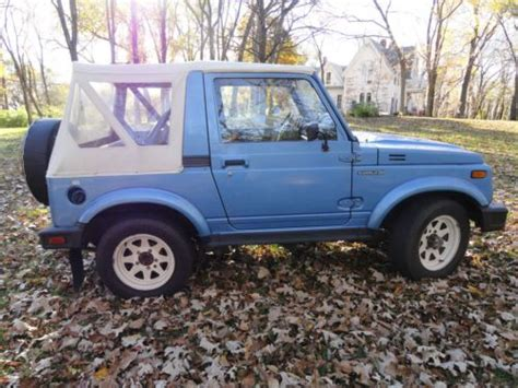 Suzuki Samurai Rear Seat For Sale Find Used Suzuki Samurai 4x4 Black With Gray Interior In