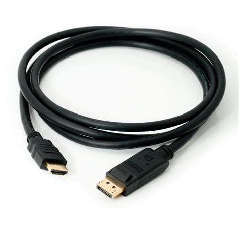 mhp 174 2m display port to hdmi cable gold plated mhp