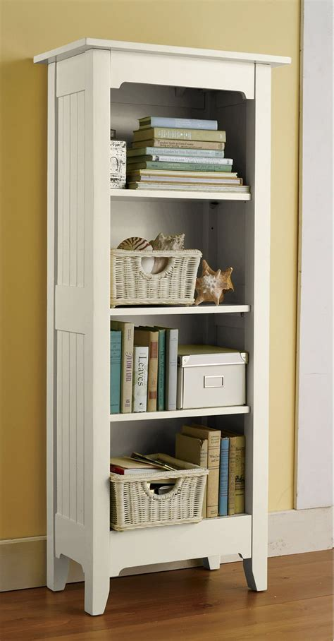 Painted cottage tall bookcase bookcases at l l bean
