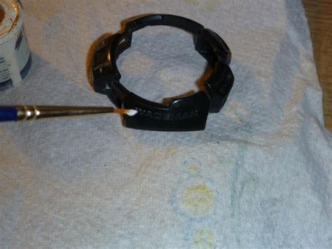 Painting G Shock Bezel by How To Repaint G Shock Bezel Text G Shockzone