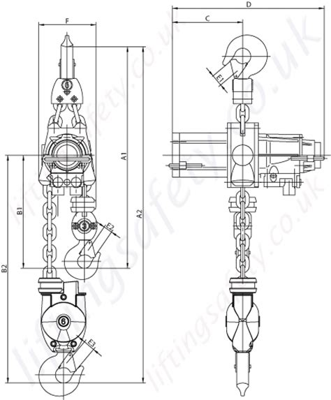 When Is The Next Pch Drawing - jdn quot m series quot twin hook hook suspended hoist medium duty pneumatic chain hoist