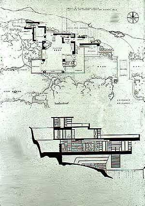 design concept of falling water not pc architect v architect fallingwater by frank