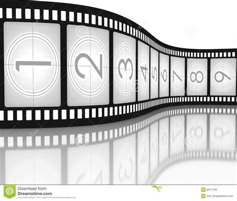 Filmstrip Countdown Royalty Free Stock Images Image 8511769 Filmstrip Countdown