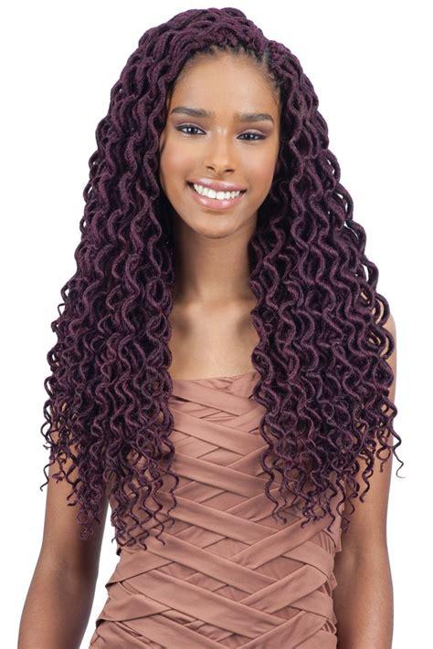 crochet hair braids braiding hair 2x faux locs braid 18 by amy freetress braid pre looped crochet 2x soft curly faux loc