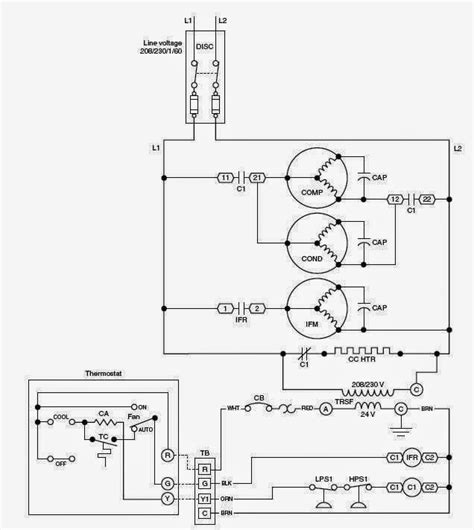 schematic diagram of hvac system efficient hvac systems