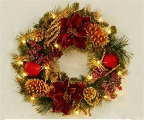 how to choose your christmas wreath garland gardensite