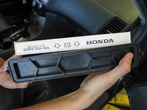 2006 Honda Accord Cabin Air Filter by 2003 2007 Honda Accord Cabin Air Filter Replacement 2003
