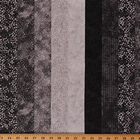 grey patterned cotton fabric cotton ambience coordinate twilight gray patterned stripes