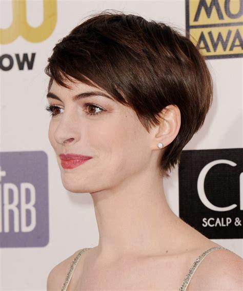 anne hathaway short hair 360 view anne hathaway hairstyles in 2018
