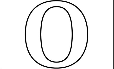 coloring pages letter o 6 best images of printable letter o free printable