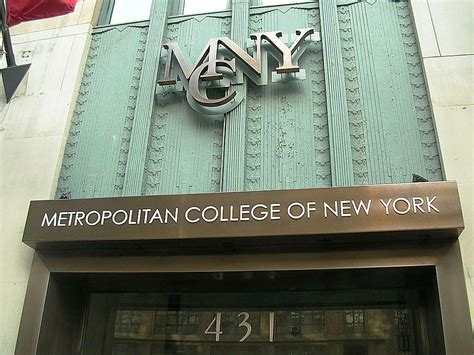 Metropolitan College New York Mba by Metropolitan College Of New York Admissions Costs