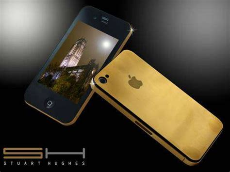 Gold 24k Iphone 4 4g 4s Tempered Glass Screenguard Anti Gores 33 622 iphones solid gold iphone 4