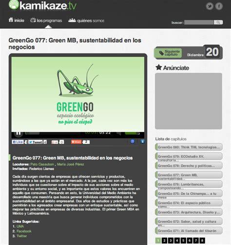 Green Mba Mexico by Green Go Fll Universidad Medio Ambiente