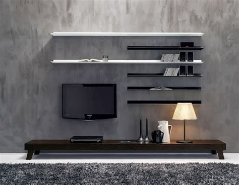 tv on wall ideas tv wall decoration in the living room design options