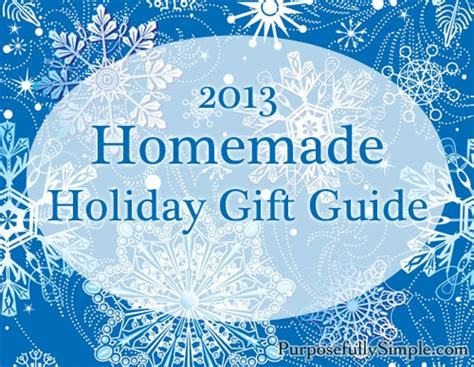 2013 handmade holiday gift guide