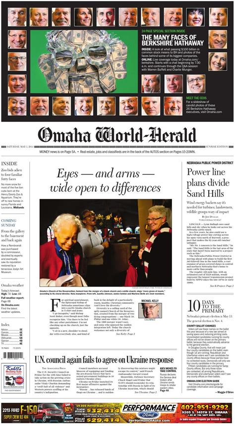 Omaha World Herald Living Section by 5 3 Berkshire Section By Omaha World Herald Issuu
