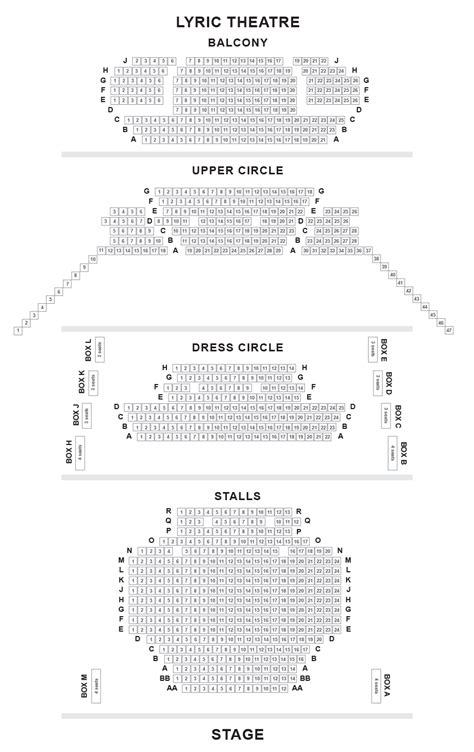 lyric theatre floor plan lyric theatre seating plan the gruffalo thriller live