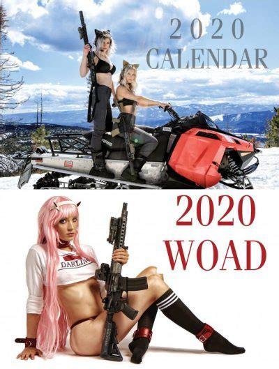 feature girls  guns calendars  girls  guns