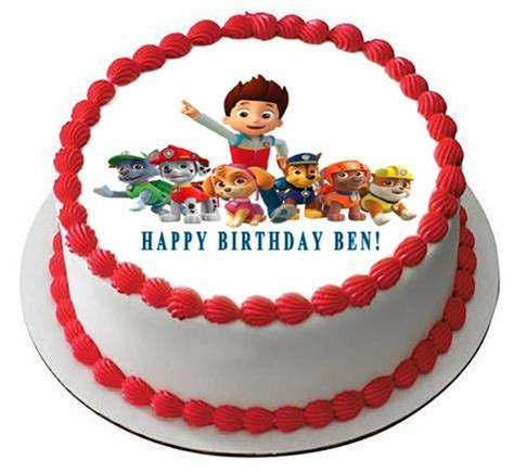 Home Decor Reviews by Paw Patrol 5 Edible Birthday Cake Or Cupcake Topper
