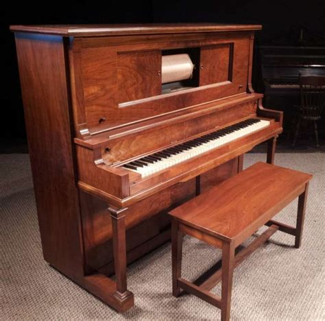 player piano gulbransen player piano antique piano shop