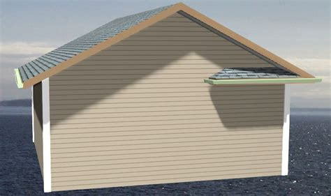 Side Gable Roof Hip Returns On One Side Of Gable Only General Questions