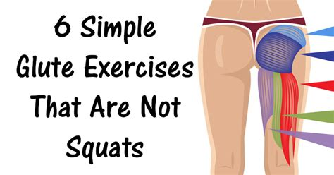 6 simple glute exercises that are not squats david
