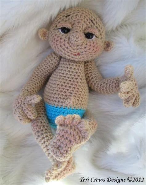cute doll pattern so cute baby doll crochet pattern mi cofre de peque 241 os