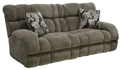 recliner couches catnapper siesta power lay flat reclining sofa porcini