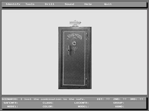 emuparadise safe safe opening simulator 1992 msd game