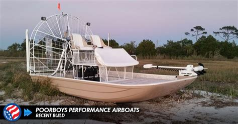 high performance airboats poorboys performance air boats