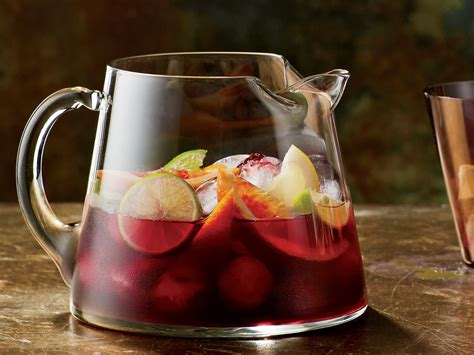 Pasta Recipes by Red Sangria Recipe Food Amp Wine