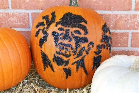 zombie pumpkin tutorial zombie string art pumpkins no carve dream a little bigger
