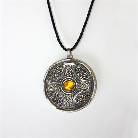 anglo saxon pendant 4024 darksword armory