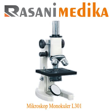 mikroskop monokuler l301 rasani medika