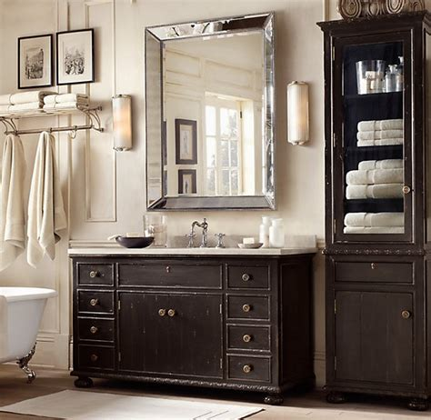 Restoration Hardware Bathroom Mirror Bathroom Mirrors Design And Ideas Inspirationseek