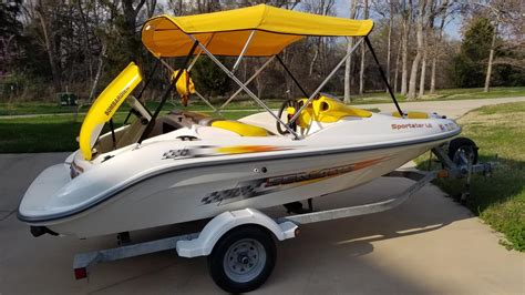 sea doo sportster le jet boat boats for sale in corsicana texas