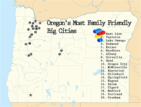 most affordable places to live in oregon how family friendly are oregon s 20 biggest cities
