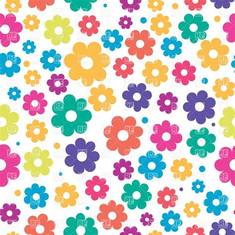 Wallpaper Flower Clipart | floral clipart flower wallpaper pencil and in color