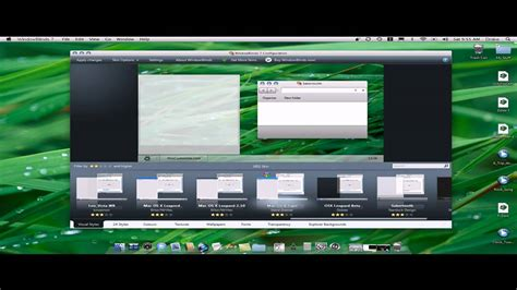 best themes for windows 7 youtube how to get the best mac os x leopard theme for windows 7