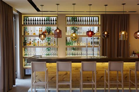 pendant lights over bar niche modern lights and luxus in the austrian alps
