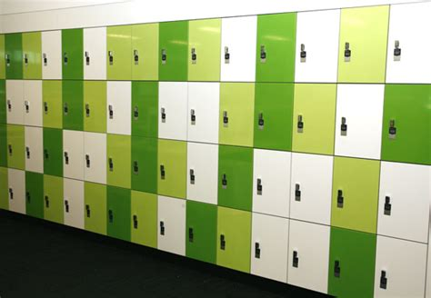 Smart Home Systems by Interloc Timber Laminate Lockers