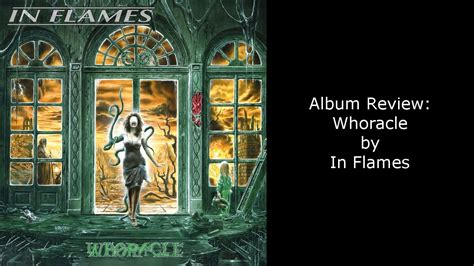 In Flames 5 album review in flames whoracle