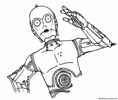 free coloring pages of c3po