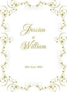 wedding invitation borders invitation borders cliparts co