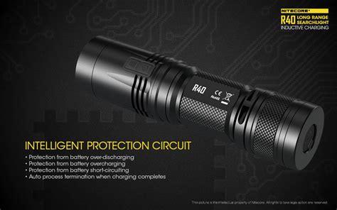 Nitecore R40 Senter Led Xp L Hi V3 1000 Lumens nitecore r40 senter led xp l hi v3 1000 lumens black jakartanotebook