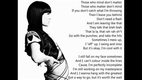 jessie j lyrics jessie j masterpiece lyrics youtube