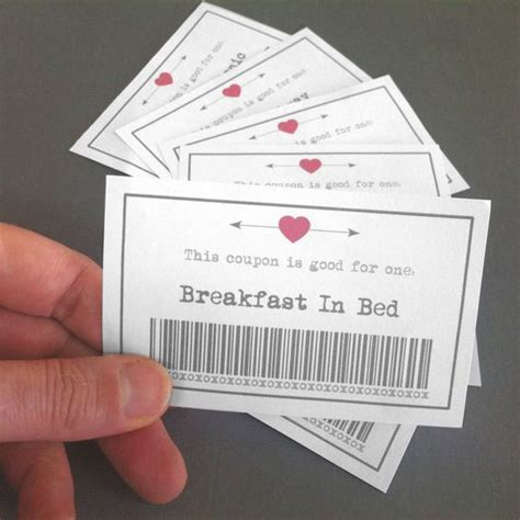 S Day Card For Fiance Free Publisher Template by Best 25 Boyfriend Coupons Ideas On Coupons