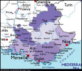 Southern France Map by Discover Southern France Golf Holiday Packages Gr8